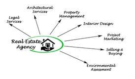 Real estate agency vector illustration