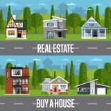 Real estate agency Stock Photos