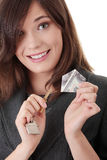 Real estate agent Royalty Free Stock Image