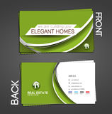Real Estate Agent Business Card Royalty Free Stock Photography