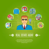 Real Estate Agent Concept Royalty Free Stock Photo