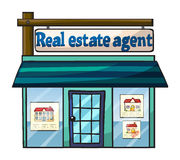 Real estate agent's office Royalty Free Stock Photography