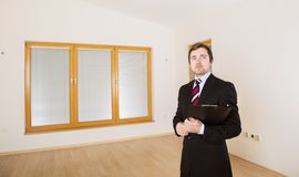 Real Estate Agent Royalty Free Stock Photography