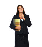 Real estate agent thinking Stock Photos