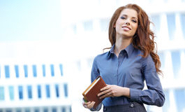 Real Estate Agent Woman Stock Image