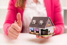 Real estate agent Royalty Free Stock Photo