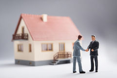 Real estate agreement Stock Images