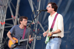 Real Estate (American indie rock and dream pop band) performs at Heineken Primavera Sound 2014 Stock Image