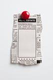 Real Estate annons arkivfoton