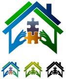 Real estate associate. Logo design Stock Image