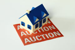 Real Estate Auction Stock Image