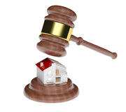 Real estate auction Royalty Free Stock Image