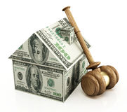 Real estate auction Royalty Free Stock Photo