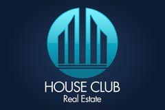 Real Estate, bâtiment, Chambre, construction et architecture Logo Vector Design Images libres de droits