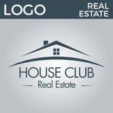 Real Estate, bâtiment, Chambre, construction et architecture Logo Vector Design Photo stock