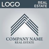 Real Estate, bâtiment, Chambre, construction et architecture Logo Vector Design Photographie stock