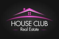 Real Estate, bâtiment, construction et architecture Logo Vector Design Photographie stock
