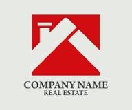 Real Estate, bâtiment, construction et architecture Logo Vector Design Image stock