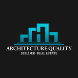 Real Estate, bâtiment, construction et architecture Logo Vector Design illustration libre de droits