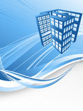 Real estate backdrop. Abstract  header for real estate or construction company with copy space Stock Photo