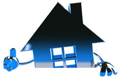 Real estate background Royalty Free Stock Images