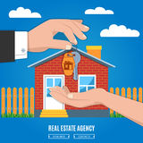Real Estate Background Royalty Free Stock Photography