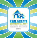 Real Estate Background for Brochure of flyers Royalty Free Stock Photos