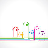 Real Estate background for sale property concept vector illustration