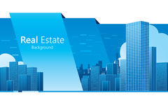Real Estate. Background. Vector illustration Stock Photo