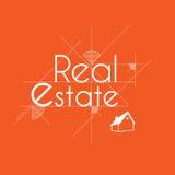 Real Estate bakgrund för affär Fotografering för Bildbyråer