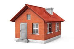 Real Estate begrepp. hus 3d Arkivfoto