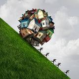 Real Estate belastar stock illustrationer