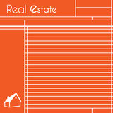 Real Estate bloc notes Stock Image