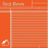 Real Estate-Blockanmerkungen Stockbild