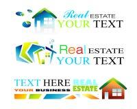 Real Estate Brochure Background stock images
