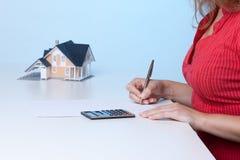 Real estate broker Stock Images