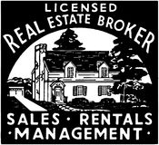 Real Estate Broker 2 Royalty Free Stock Photography