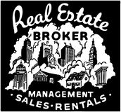 Real Estate Broker Royalty Free Stock Images