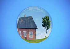 Real estate bubble Royalty Free Stock Photos
