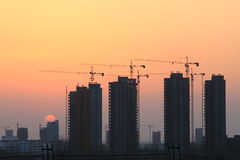 Real estate building. In beijing china Stock Photo
