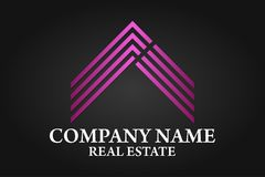 Real Estate, Building, Construction and Architecture Logo Vector Design Royalty Free Stock Photography