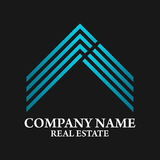 Real Estate, Building, Construction and Architecture Logo Vector Design Stock Image