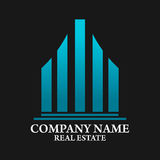 Real Estate, Building, Construction and Architecture Logo Vector Design Royalty Free Stock Photos