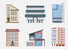 Real Estate Building Icons and Symbols set, isolated. Vector illustration. Real Estate Building Icons and Symbols set, isolated. Vector illustration Stock Photo