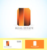 Real estate building logo Royalty Free Stock Photography