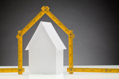Real Estate - Building a New House Stock Images