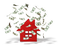 Real estate and business Royalty Free Stock Image