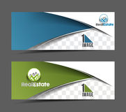 Real estate Business Banner Royalty Free Stock Photos
