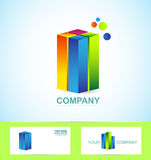Real estate business corporate logo icon vector illustration
