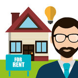 Real estate business and profits Stock Photo